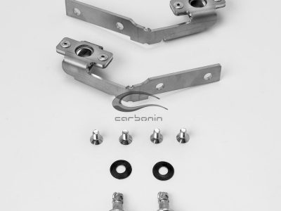BMW S 1000 RR - inox bracket airbox, SHORT subf. - IN405B