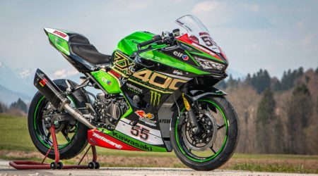 Kawasaki Ninja 400 2020 race bike